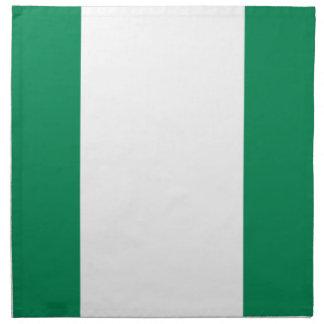Low Cost! Nigeria Flag Napkin
