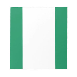 Low Cost! Nigeria Flag Notepad