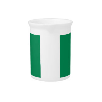 Low Cost! Nigeria Flag Pitcher