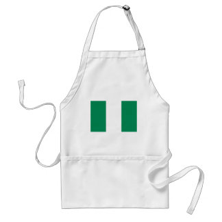 Low Cost! Nigeria Flag Standard Apron