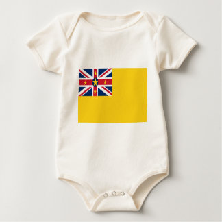 Low Cost! Niue Flag Baby Bodysuit