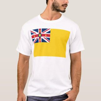 Low Cost! Niue Flag T-Shirt