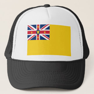 Low Cost! Niue Flag Trucker Hat