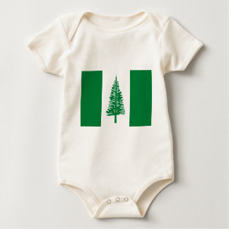 Low Cost! Norfolk Island Flag Baby Bodysuit