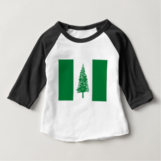 Low Cost! Norfolk Island Flag Baby T-Shirt