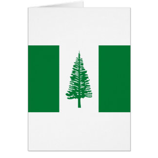 Low Cost! Norfolk Island Flag Card