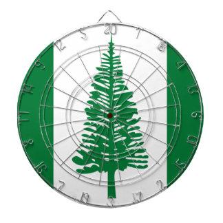 Low Cost! Norfolk Island Flag Dartboard