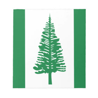 Low Cost! Norfolk Island Flag Notepad