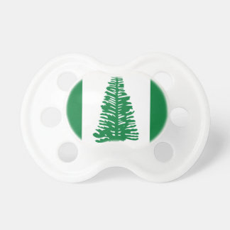 Low Cost! Norfolk Island Flag Pacifier