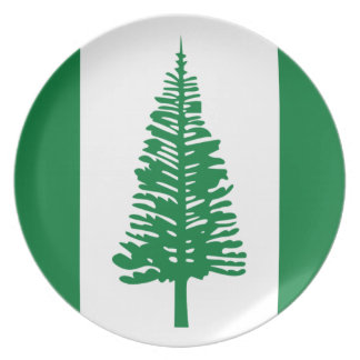 Low Cost! Norfolk Island Flag Plate
