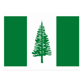 Low Cost! Norfolk Island Flag Postcard