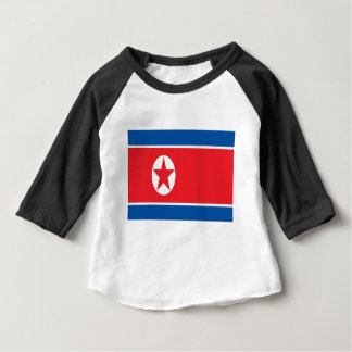 Low Cost! North Korea Flag Baby T-Shirt