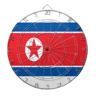 Low Cost! North Korea Flag Dartboard