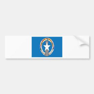 Low Cost! Northern Mariana Islands Flag Bumper Sticker