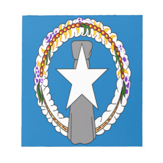 Low Cost! Northern Mariana Islands Flag Notepad