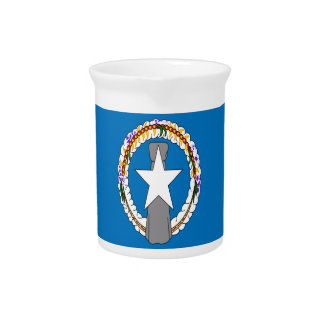 Low Cost! Northern Mariana Islands Flag Pitcher