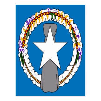 Low Cost! Northern Mariana Islands Flag Postcard