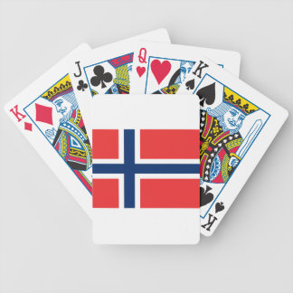 Low Cost! Norway Flag Bicycle Playing Cards