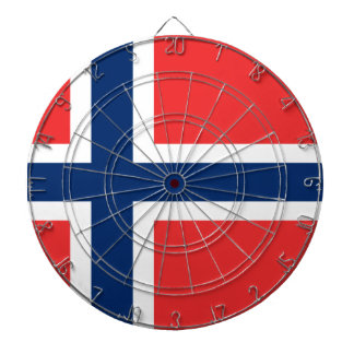 Low Cost! Norway Flag Dartboards