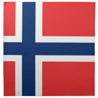Low Cost! Norway Flag Napkin