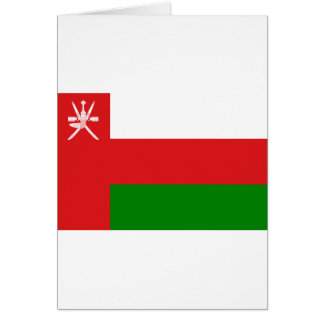 Low Cost! Oman Flag Card