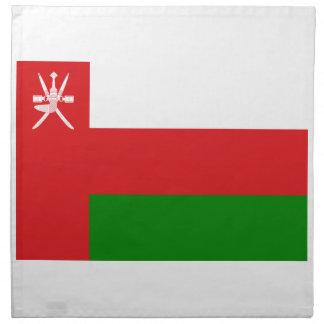 Low Cost! Oman Flag Napkin