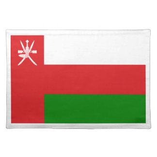 Low Cost! Oman Flag Placemat
