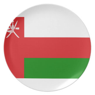 Low Cost! Oman Flag Plate