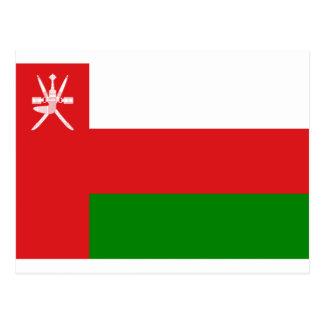 Low Cost! Oman Flag Postcard