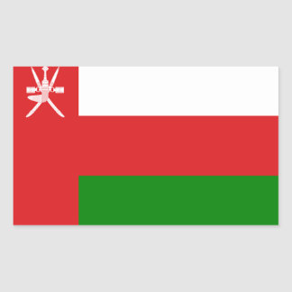Low Cost! Oman Flag Sticker