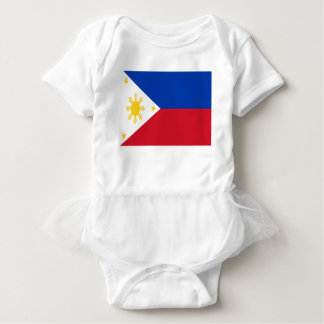Low Cost! Philippines Flag Baby Bodysuit