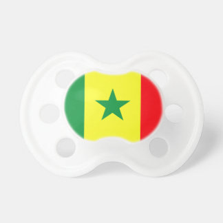 Low Cost! Senegal Flag Pacifier