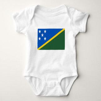 Low Cost! Solomon Islands Flag Baby Bodysuit