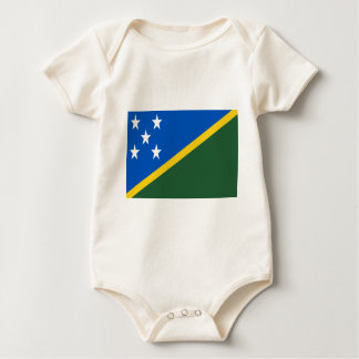 Low Cost! Solomon Islands Flag Baby Bodysuit