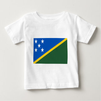 Low Cost! Solomon Islands Flag Baby T-Shirt
