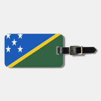 Low Cost! Solomon Islands Flag Luggage Tag