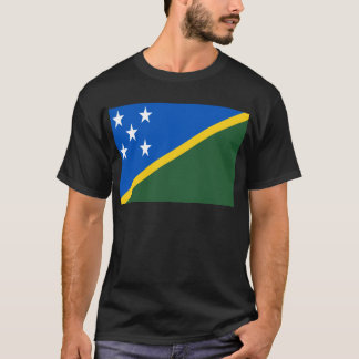 Low Cost! Solomon Islands Flag T-Shirt