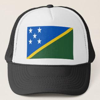 Low Cost! Solomon Islands Flag Trucker Hat