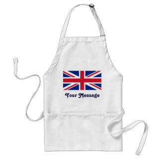 Low Cost Union Jack Flag Crafts Cook Chef Standard Apron