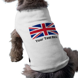 Low Cost Union Jack Flag of Great Britain Dog Top Pet Clothing
