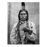 Low Dog - Native American vintage photo Post Card