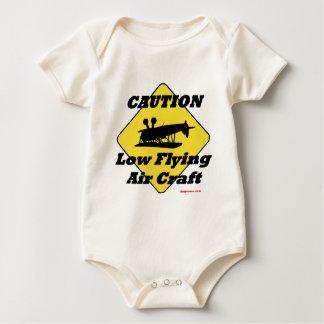 Low Flying Air Craft Baby Bodysuit