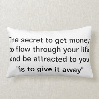 low of attraction pillow