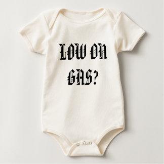 LOW ON GAS? - Customized Baby Bodysuit