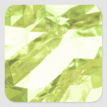 Low poly abstract square sticker