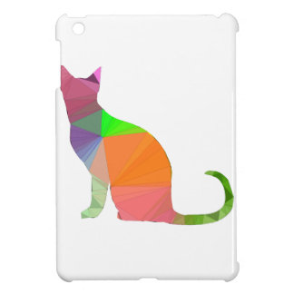 Low Poly Cat Silhouette Case For The iPad Mini