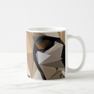 Low Poly Cheetah Coffee Mug