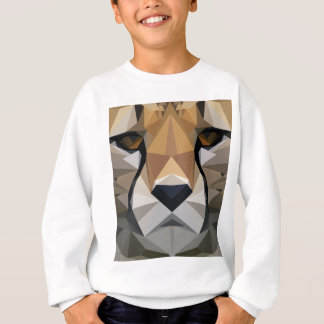 Low Poly Cheetah Sweatshirt
