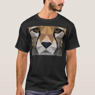 Low Poly Cheetah T-Shirt