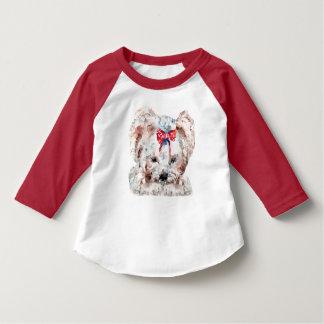 Low poly design Dog American Apparel T-shirt